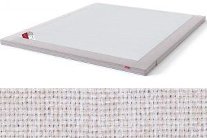 TOP HR Foam Plus antčiužinis su baldiniu smėlio (biežinės) spalvos audiniu Sleepwell RED serijos lovoms