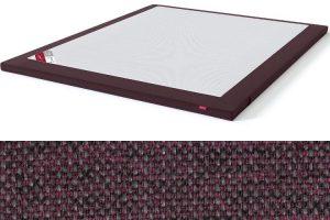 Antčiužinis su baldiniu audiniu Sleepwell BLACK serijos lovoms rausvai ruda spalva-audinys