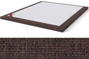Latekso antčiužinis su baldiniu audiniu Sleepwell RED serijos lovoms TOP Latex Lux ruda spalva-audinys